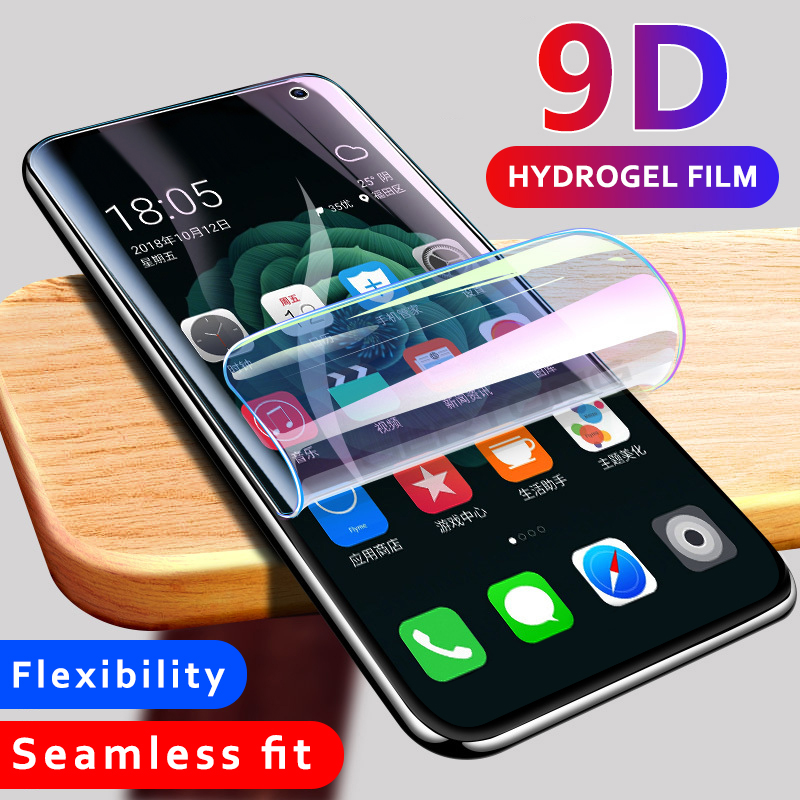 Screen Protector Glass For Samsung Galaxy Note 10 Pro S10 Plus S10e S9 S8 Plus Note 9 8 Full Cover Tempered Glass Hydrogel Film