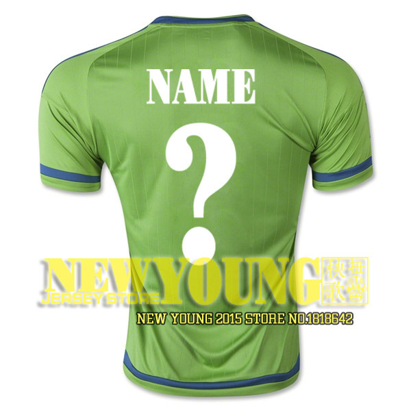 info for 43607 7945b US $16.0  2016 Seattle Sounders Soccer jersey 15 16 Major League Soccer  Seattle Sounders home away football shirt DEMPSEY ALONSO PAPPA-in Soccer ...