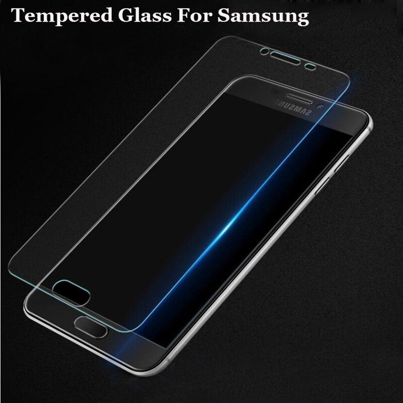 2.5D Премиум Закаленное стекло для Samsung Galaxy S6 J1 J2 J3 J5 J7 A3 A5 A7 2014 2015 2016 Защитная пленка для экрана