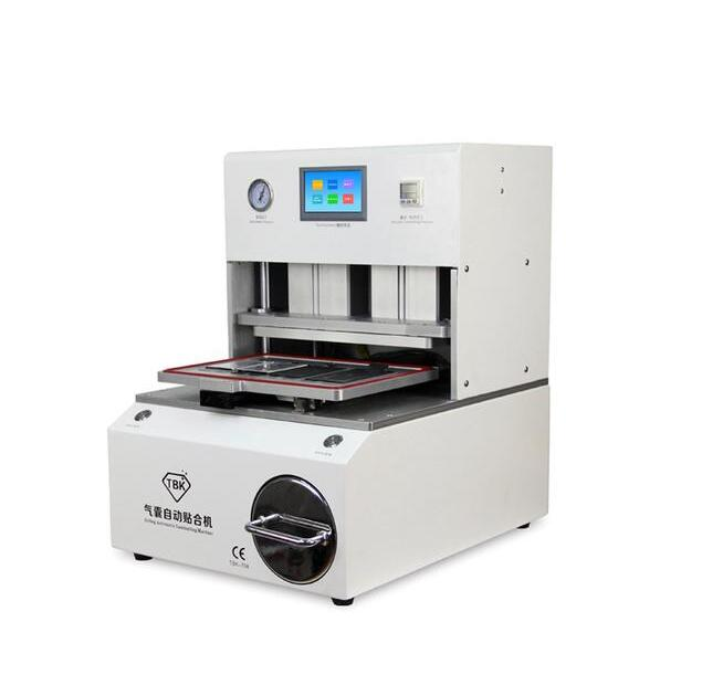 NEW ARRIVE TBK -708 Curved Screen OCA LCD Laminating Machine Bubble Remover Built-in Vacuum Pump Air Compressor Automatic Airbag new tbk 608 automatic oca vacuum laminating with bubble removing machine for lcd touch screen repair
