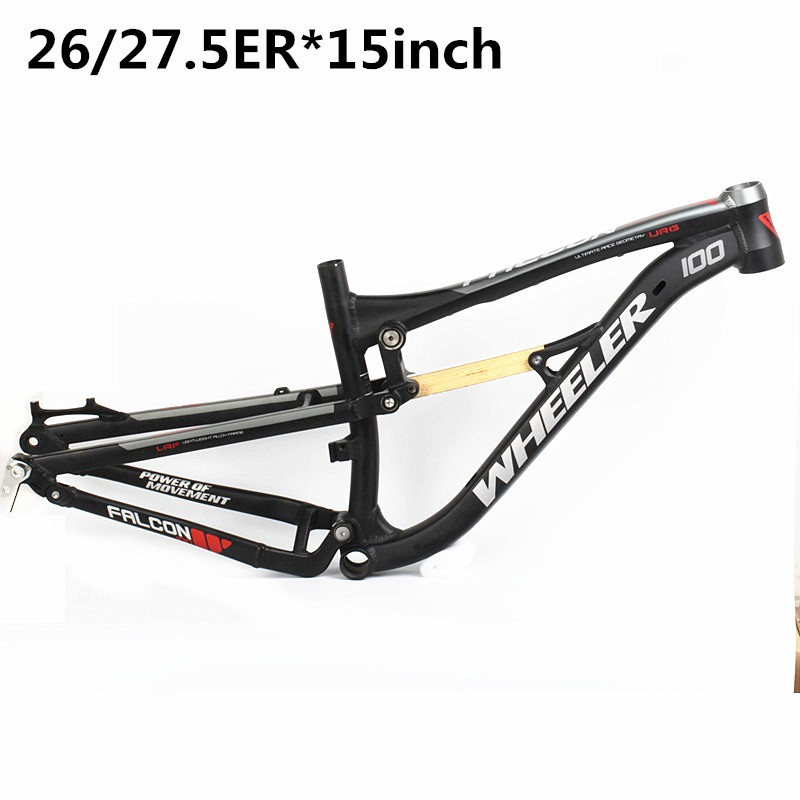 Hot Sale Suspension Aluminium frame spring rear shock Alloy MTB ...