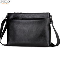 VICUNA POLO Luxury Brand Horizontal Business Men S Bag Soft Leather Mens Messenger Bags Casual Versatile