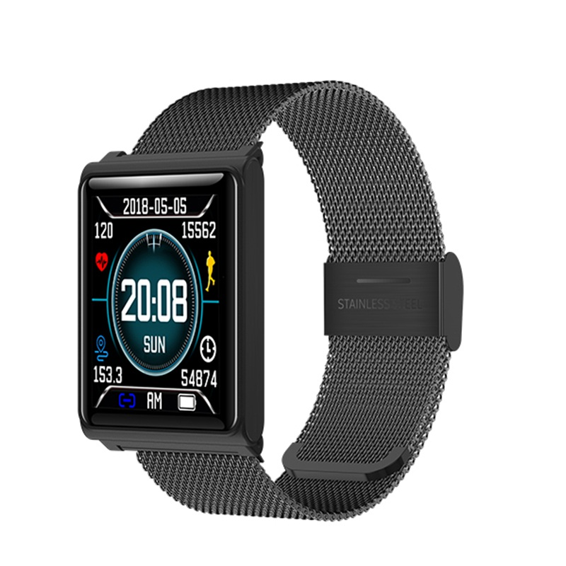 GIMTO Модные мужские умные часы Bluetooth IOS Iphone Android смарт-устройство сенсорный экран цифровые спортивные часы водостойкие часы для здоровья