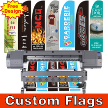 55cm*200cm(Only Flags Price Custom Feather Flags With DOUBLE Sided Printing for Outdoor Advertising ) FREE SHIPPING