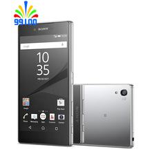 Oryginalny Sony Xperia Z5 Premium Octa Core 5 5 #8222 pojedynczy podwójny Sim odblokowany RAM 3GB + ROM 32GB tanie tanio Nie odpinany JP (pochodzenie) Odnowiony Android Rozpoznawania linii papilarnych Inne 3430 Nonsupport Smartfony Pojemnościowy ekran