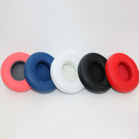 Replacement Ear pad headphone Earpads cushions For Monster Beats By Dr Dre Solo 2 2.0 Solo 3 wireless Headphones 10pair/lots