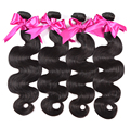8A Peruvian Virgin Hair Body Wave 4 Bundles Wholesale 8 - 28 Inch Peruvian Body Wave Ali Coco Hair Unprocessed Virgin Human Hair