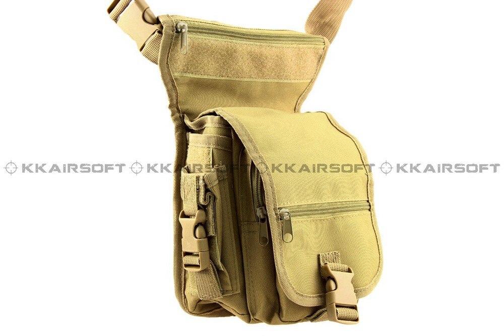 Военный Тактический поясной рюкзак США Тактический песок утилита поясная сумка WG-03-зеленый камуфляж BK - Цвет: SAND