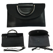 Elegant Casual Large-Capacity Leather Clutch Bag