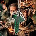 Novo Filme Hot Filme The Lord Of The Ringer Elven Folha Pingente Arwen Evenstar Pingente Anfíbio Presente de Natal