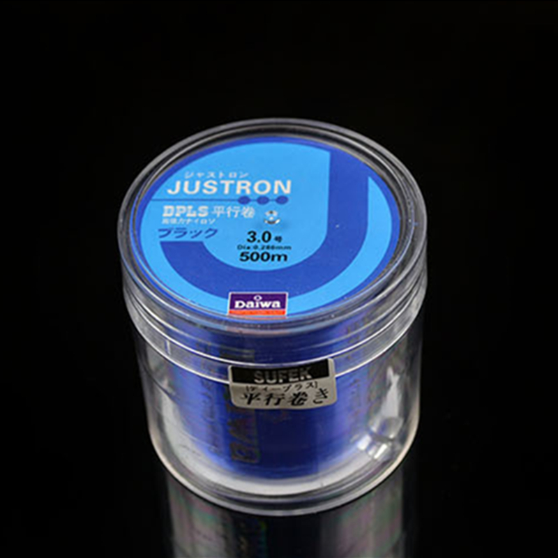 DAIWA 500M Fluorocarbon Japan Monofilament Nylon Fishing Line 10LB - 40LB Monofilament Carp Fishing Main Line With Plastic Box