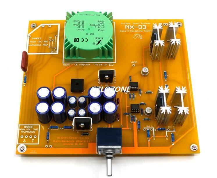 Terminé 1:1 réplique carte de casque RudiStor italien NX03 avec potentiomètre de type alpes 27 avec transformateur entièrement scellé