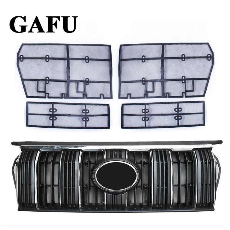 Image 2 - Car Styling For Toyota Land Cruiser Prado 2018 2019 FJ 150 Grille Insect Screening Mesh Front Grille Net Accessories-in Interior Mouldings from Automobiles & Motorcycles