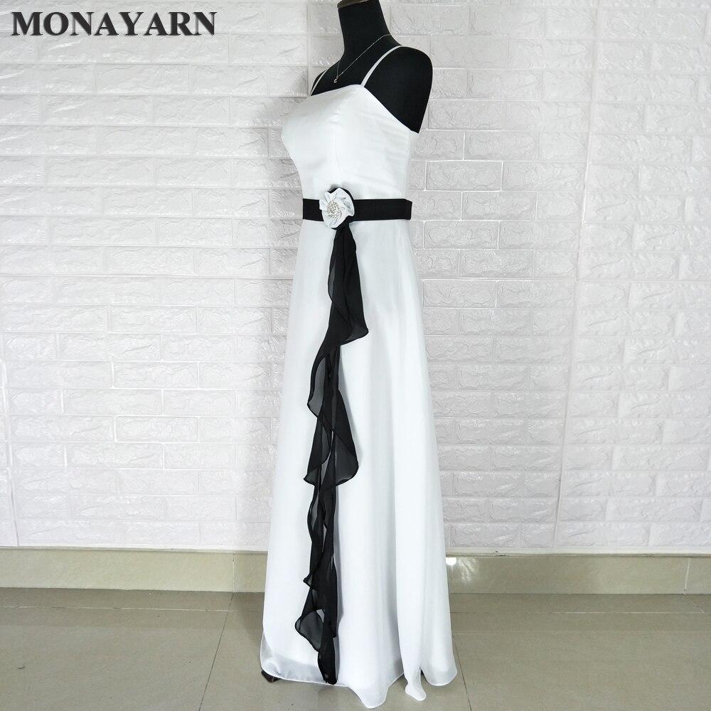 Sexy fashion long chiffon bridesmaid dress purple green white black ...
