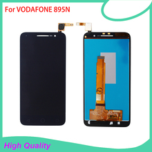 LCD Display Touch Panel For VODAFONE 895 VF895 895N VF-895 Touch Screen Black Color Mobile Phone LCDs Free Shipping