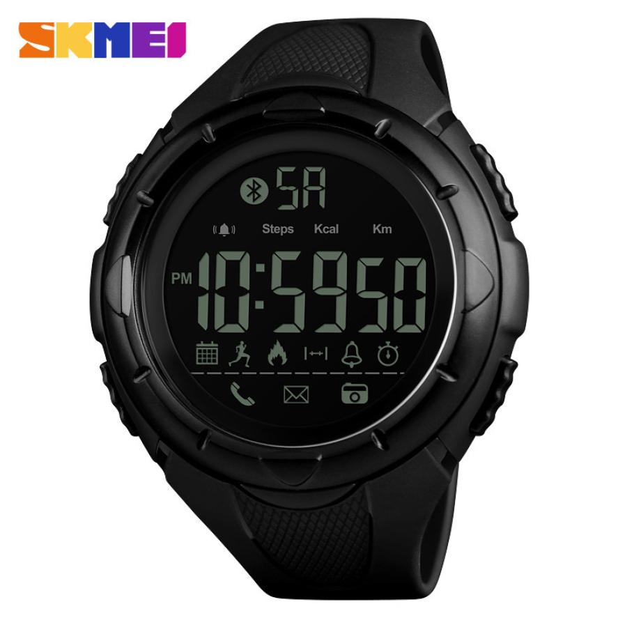 <font><b>SKMEI</b></font> Fashion Outdoor Smart Sport Watch Waterproof Digital Mens Watch Remote Camera Calorie Bluetooth Watch relojes para hombre image