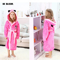 Easter Gifts Children's Bathrobes Spring Winter Children Robes Flannel Long Kids Minnie Pajamas Home Wear Boy Girls Clothing