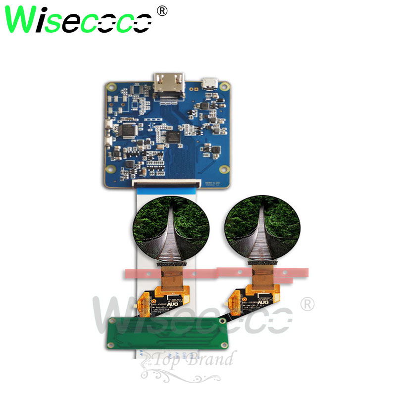 1.39 Inch 400*400  AMOLED Display  Round Circle Circular OLED  Module Screen H139BLN01.0 With MIPI Interface  Board