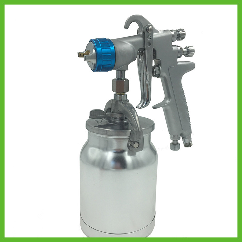цена на SAT0081 professional spray gun paint high quality airbrush spray gun lvmp for car painting pneumatic hand gun tools