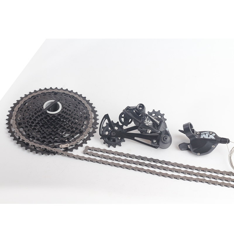 2018 NEW SRAM NX EAGLE 1x12S 11-50T 12 speed Groupset Kit Trigger Shifter Rear Derailleur Cassette Chain2018 NEW SRAM NX EAGLE 1x12S 11-50T 12 speed Groupset Kit Trigger Shifter Rear Derailleur Cassette Chain