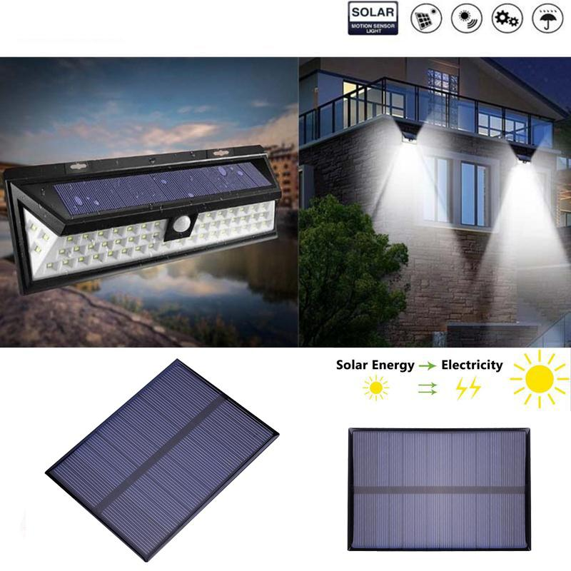 BCMaster 1.2W 6V Solar Panel Solar cells Board Solar system Polycrystalline charger 112 * 84MM for Garden Light