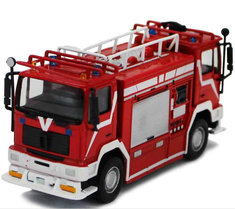 1:64 alloy car model,high simulation Italian double-headed fire truck  model,collection engineering toy vehicle,free shipping