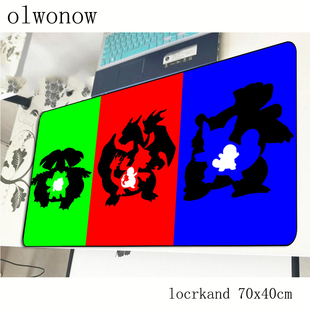 pokemons mousepad 700x400x3mm Indie Pop gaming mouse pad gamer mat Professional computer desk padmouse keyboard large play mats 2