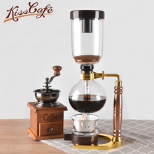 Syphon Pot Heat Resistant Glass Siphon Coffee Maker Made in China Siphon Vacuum Pot Kitchen Tools 3cups Syphon Coffee Machine