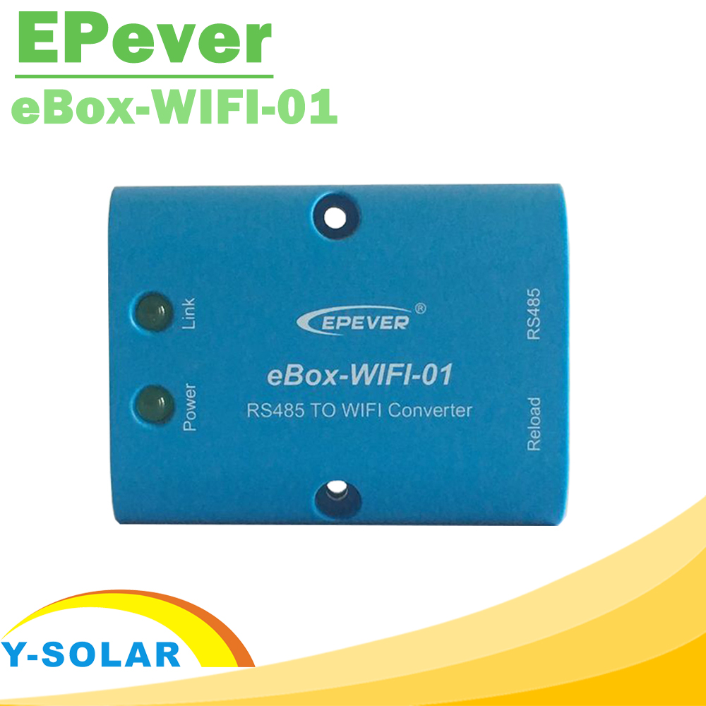 eBox-WIFI-01 with wifi Communication Function Carry Out Wireless Monitoring Parameter Settings for Solar Controllers Inverters
