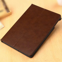 Luxury Flip PU Leather Case for iPad Air 2 Smart Cover for iPad Air 2 iPad 6 Tablet Stand Case 9.7″ with Hand Holder Card Slots