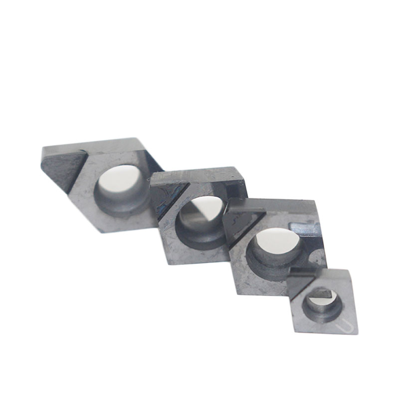PCD 2pcs CCGT09T302 PCD  tunring inserts Used for Aluminum Diamond INSERT