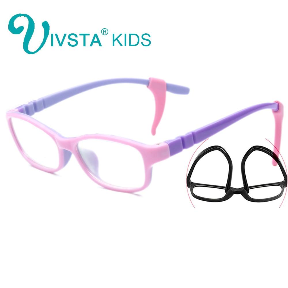 IVSTA 702 With Silicone Hook Teen Glasses Frame For Children Kids Frames Kid Glasses Girls Child Tr90 Children Frames Optic