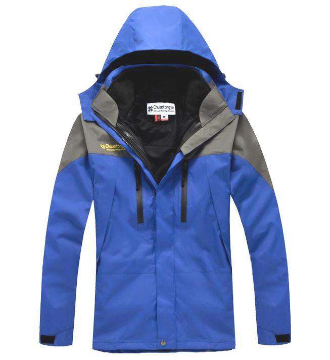 2016 New Fashion Jacket Mens Mountain Wear Coats Patchwork Hat Jacket Tech Jacket 6 colors Homme Cappotto 13M0313