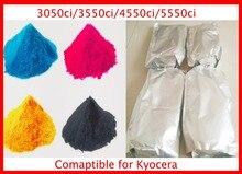 Color Toner Powder Compatible for Kyocera 3050ci/3550ci/4550ci/5550ci Free Shipping