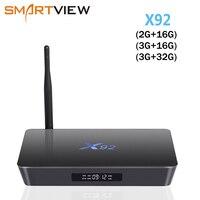 Genuine X92 2GB 3GB 16GB 32GB Android 7 1 TV Box Amlogic S912 Octa Core