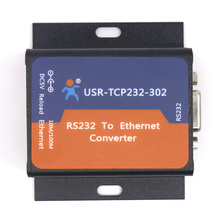 Q18041-10 10PCS USR-TCP232-302 Tiny Size Serial RS232 to Ethernet TCP IP Server Module Ethernet Converter Support DHCP/DNS
