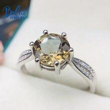 Bolai, меняющее цвет, кольцо diaspore, Твердое Серебро 925 пробы, круглый 8 мм, драгоценный камень zultanit, хорошее ювелирное изделие, кольца для женщин, свадебные