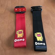 Nylon Trailer Rope Belt for domokun emblem Front Car bumpers sticker for bmw mercedes renault ford toyota honda audi accessories цена