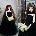 Платье свадебное платье BJD SD куклы платье юбка бюстгальтер свадебное платье 1/3 женщина 1/4 черный Подарок Девушке
