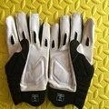 Envío Libre, clásicos deportes Multifuncional guantes, los guantes de fútbol Americano, control de velocidad, OL DL LB Apoyador, protector de la marca