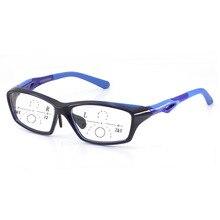 d3566ad567c52 Novo Estilo Homens Tr90 Presbiopia Progressiva Óculos De Leitura Qualidade  Da Moda esportes Óculos para Homens