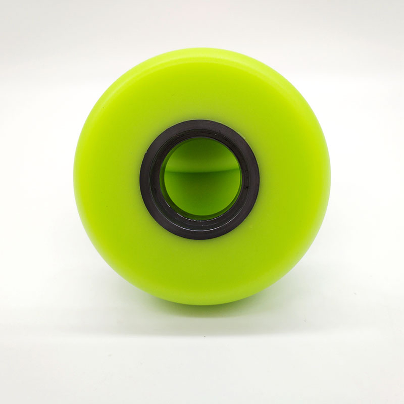 free shipping aggressive skate wheel 60*24 mm 90 A 8 pcs / lot green color