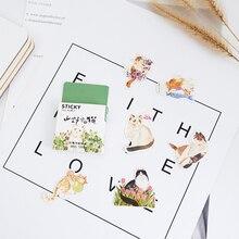 45 Pcs/box mountain cat paper sticker DIY decoration stickers diary photo album scrapbooking planner label stickers 45 pcs box mountain cat paper sticker diy decoration stickers diary photo album scrapbooking planner label stickers