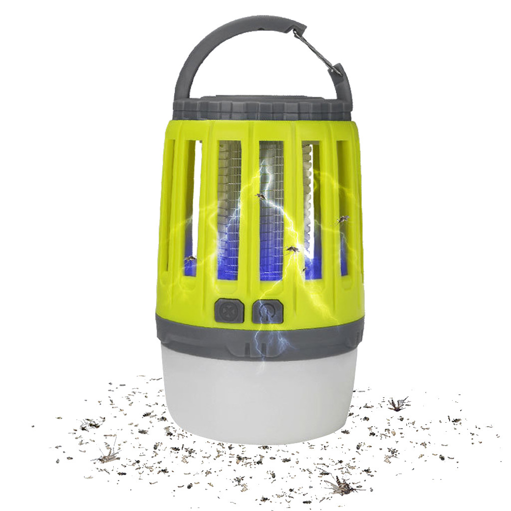 Image 3 - Camping Lights With Bug Zapper Mosquito Repellent Function Camping Lantern Mosquito Trap Mosquitoes Insect Killer Pest Reject-in Repellents from Home & Garden