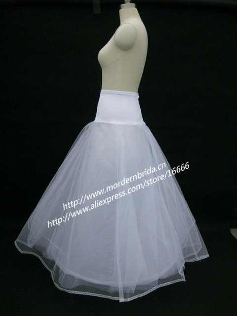 Free shipping P007 Bridal Wedding Gown Petticoat-in Petticoats from ...