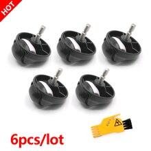 5 sztuk do iRobot Roomba 500 600 700 800 900 serii 860 865 866 870 871 880 885 886 890 kółka zgromadzenie przednie kółka koła