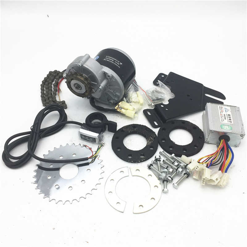 Bicycle modified electric bicycle full set of accessories left wheel modified electric bicycle 250W350W24V36V
