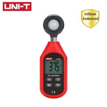 UNI-T UT383 Light Meter 200,000 LUX Digital Luxmeter Luminance Lux Fc Test Max Min Handheld Illuminometers Photometer
