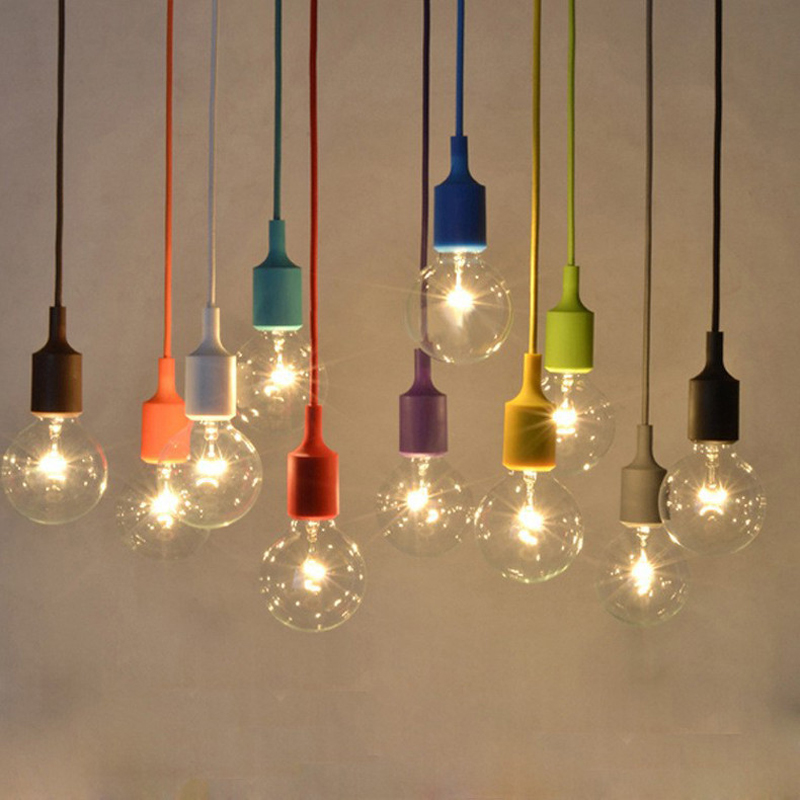 Hanging Lamp Children S Room Color Pendant Light E27 Creative Mini Clothing Single Indoor In Lights From