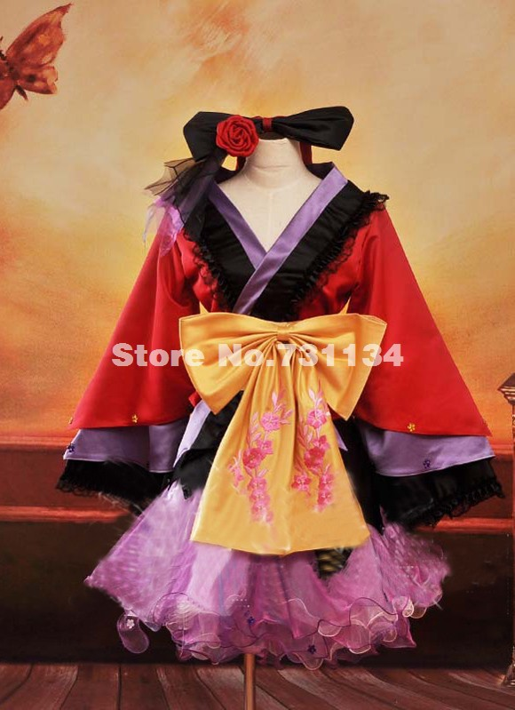 Buy vocaloid kimono lolita and get free shipping on AliExpress.com 07b64b704460